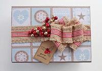 Подарочная коробочка для новогодних шаров